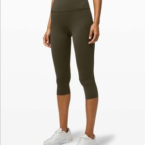 Lululemon Fast and Free High-Rise Crop